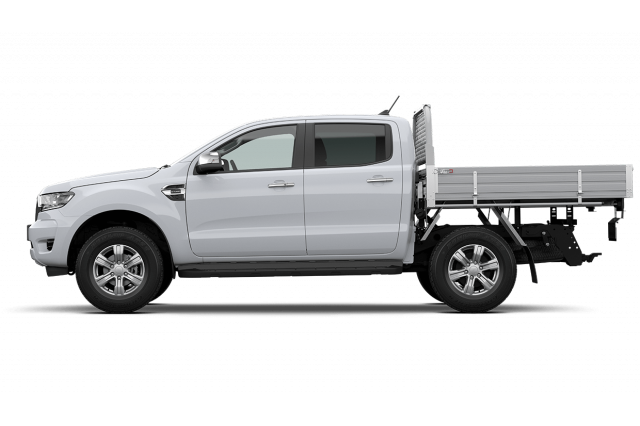 2020 MY21.25 Ford Ranger PX MkIII XLT Double Cab Chassis Cab chassis Image 4