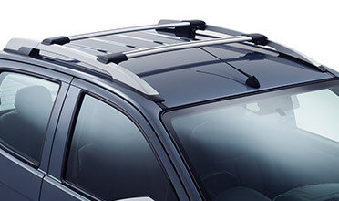 Crew Cab Roof Rail Cross Bars