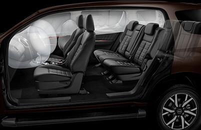 Isuzu UTE 6 Airbags