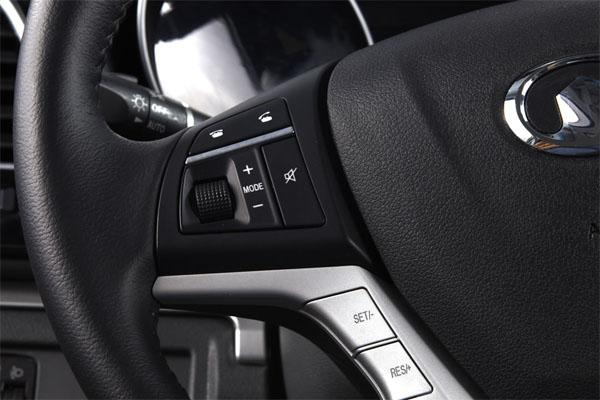Steed Dual Cab Petrol Multi-function Leather Steering Wheel