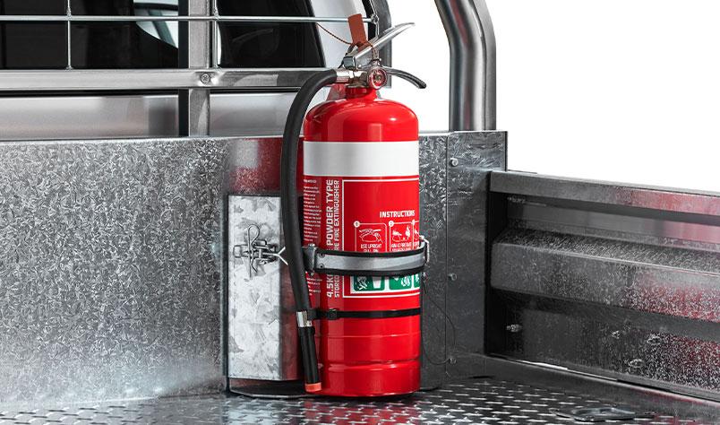 "<img src=""Fire Extinguisher Bracket - Small"