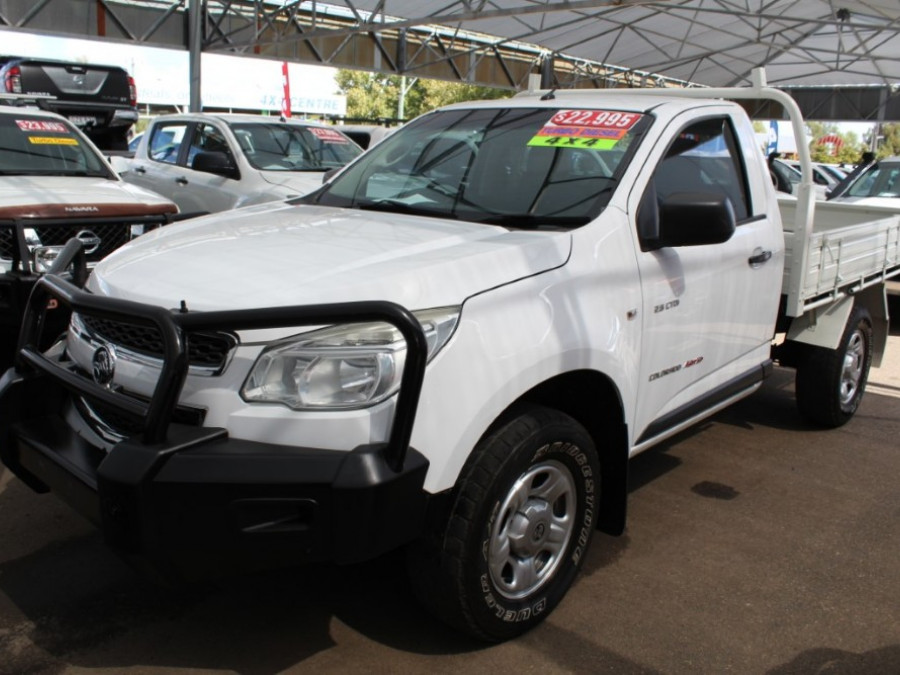2013 Holden Colorado RG  DX Cab chassis - single cab