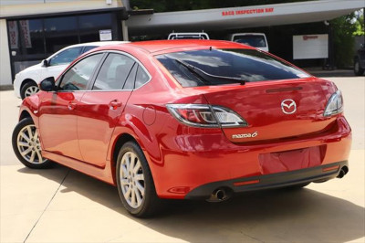 2012 Mazda 6 GH Series 2 MY12 Touring Sedan Image 5