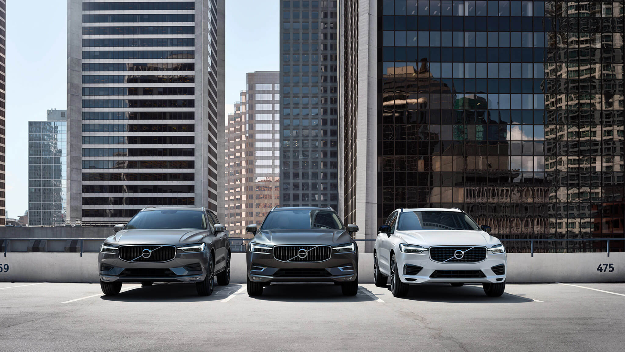 The Volvo XC60 range Image