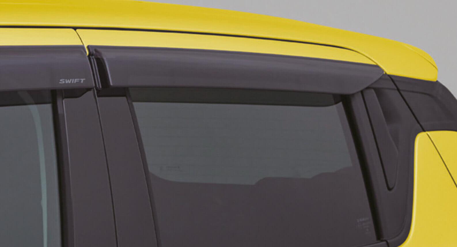 Swift Sport - Weather Shield, Rear Pair