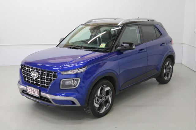 2020 MY21 Hyundai Venue Base Elite Wagon Image 3