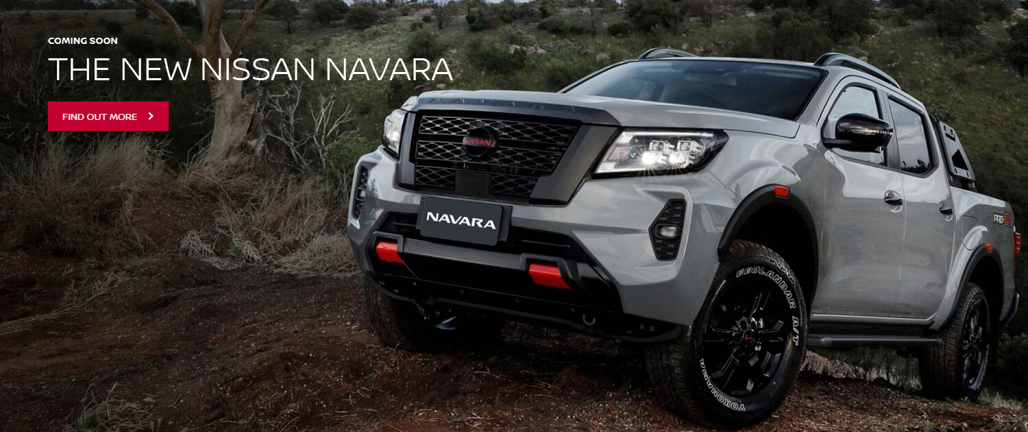 The new Nissan Navara - Coming soon