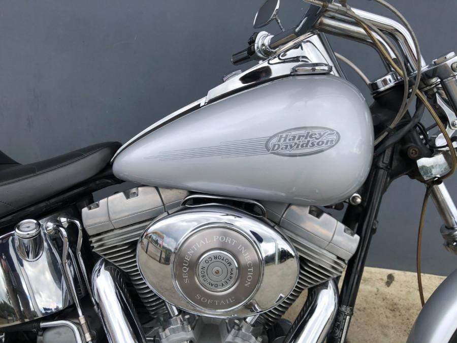 2002 Harley Davidson Softail FXST Standard Motorcycle Image 6