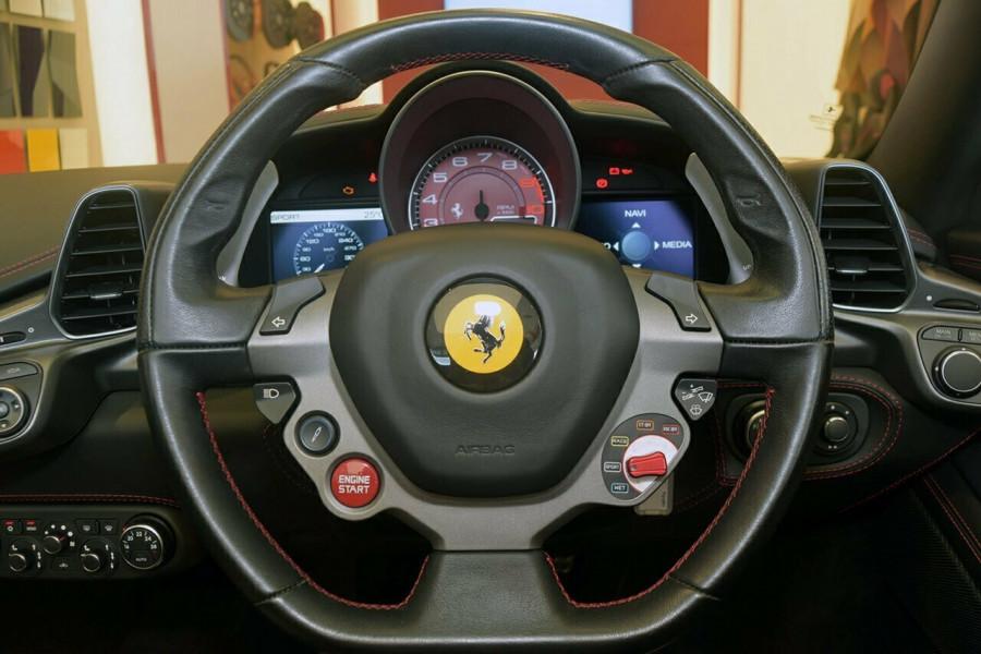 2012 Ferrari 458 Spider F142 F142 Convertible