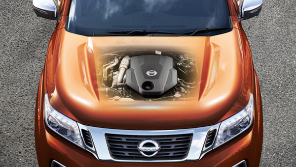 Navara Devours roads, sips fuel.