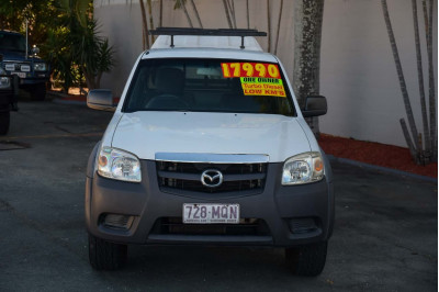 2009 Mazda BT-50 UN DX+ Cab chassis Image 3