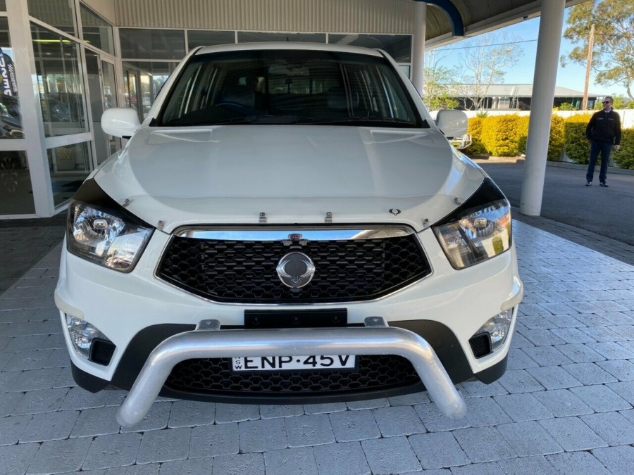 2012 SsangYong Actyon Sports Q150  SPR SPR Ute Image 3
