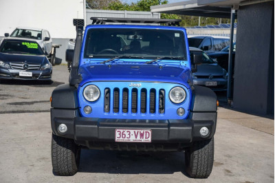 2015 Jeep Wrangler JK MY16 Unlimited Sport Softtop Image 3