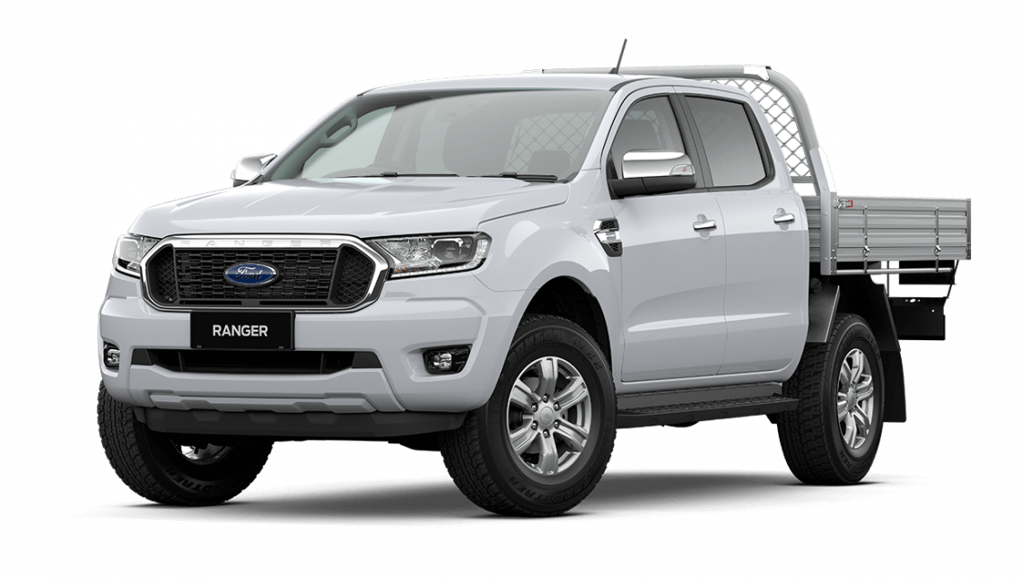 2020 MY21.25 Ford Ranger PX MkIII XLT Double Cab Chassis Cab chassis Image 9