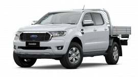2020 MY21.25 Ford Ranger PX MkIII XLT Double Cab Chassis Utility image 9