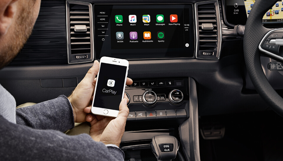Kodiaq WIRELESS SMARTPHONE CONNECTIVITY