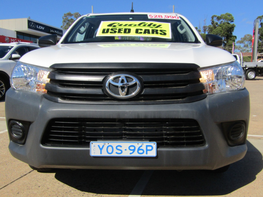 2018 Toyota HiLux WorkMate 4x2 Single-Cab Cab-Chassis Cab chassis Image 5