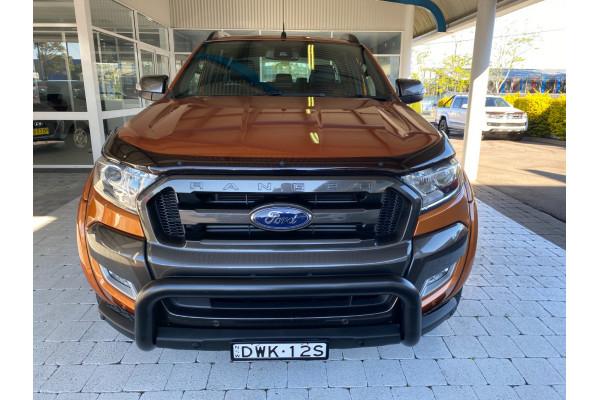 2018 Ford Ranger PX MkII  Wildtrak Ute Image 3
