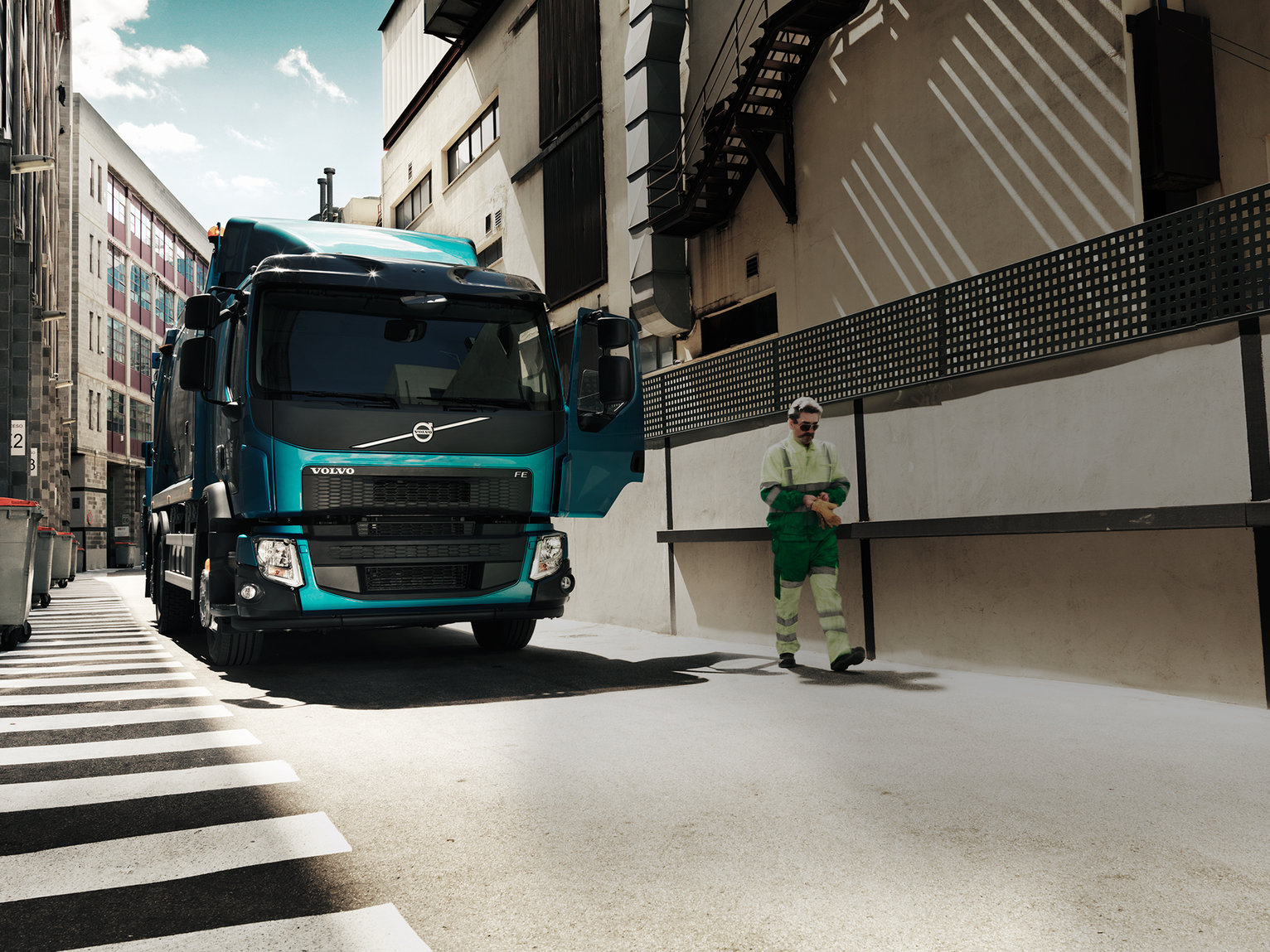Volvo FE Driver productivity