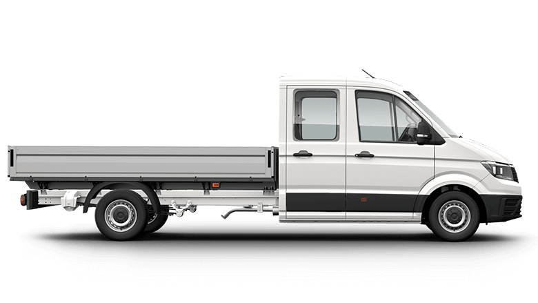 Crafter Cab Chassis Dual Cab LWB TDI410 8 Speed Auto