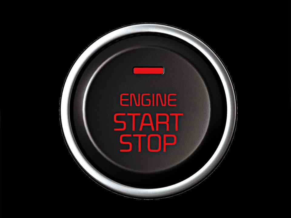 Smart Key with Push Button Start Image
