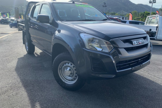 Isuzu UTE D-MAX 4x4 SX Space Cab Chassis --