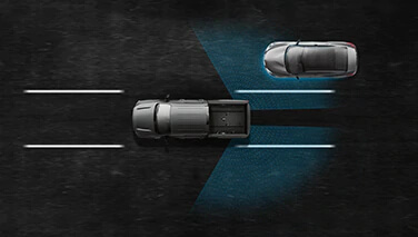 Blind Spot Warning & Intelligent Blind Spot Intervention Image