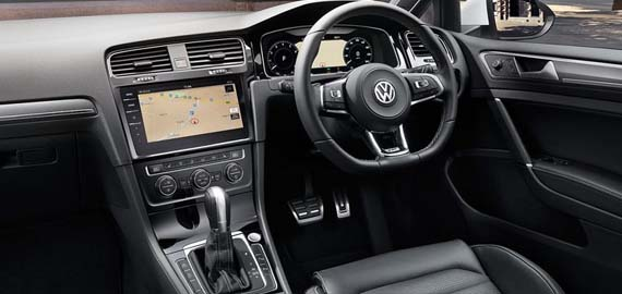 New Golf Beautiful on the inside