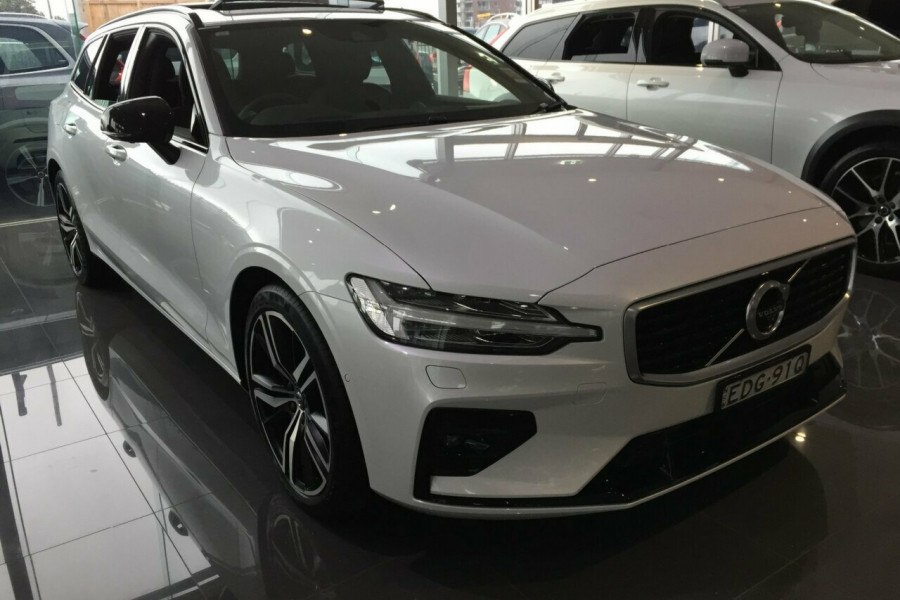 2019 MY20 Volvo V60 Z Series MY20 T5 Geartronic AWD R-Design Wagon Mobile Image 1