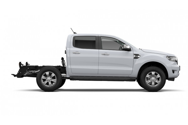 2021 MY21.25 Ford Ranger PX MkIII XLT Double Cab Chassis Cab chassis Image 3