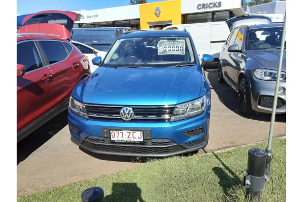 2016 MY17 Volkswagen Tiguan 5N  110TSI Trendline Suv Image 2