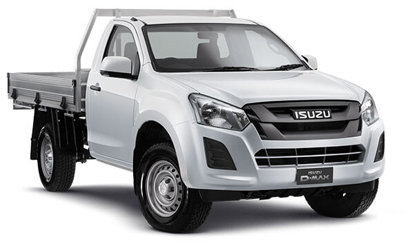 2019 Isuzu UTE D-MAX SX Single Cab Chassis High-Ride 4x2 Utility