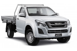 Isuzu UTE D-MAX SX Single Cab Chassis High-Ride 4x2 IO