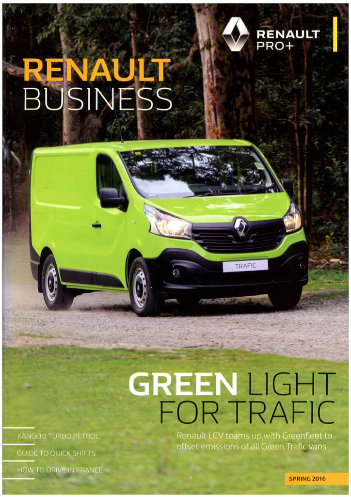BOXING CLEVER in Renault Business Spring 2016 Publication