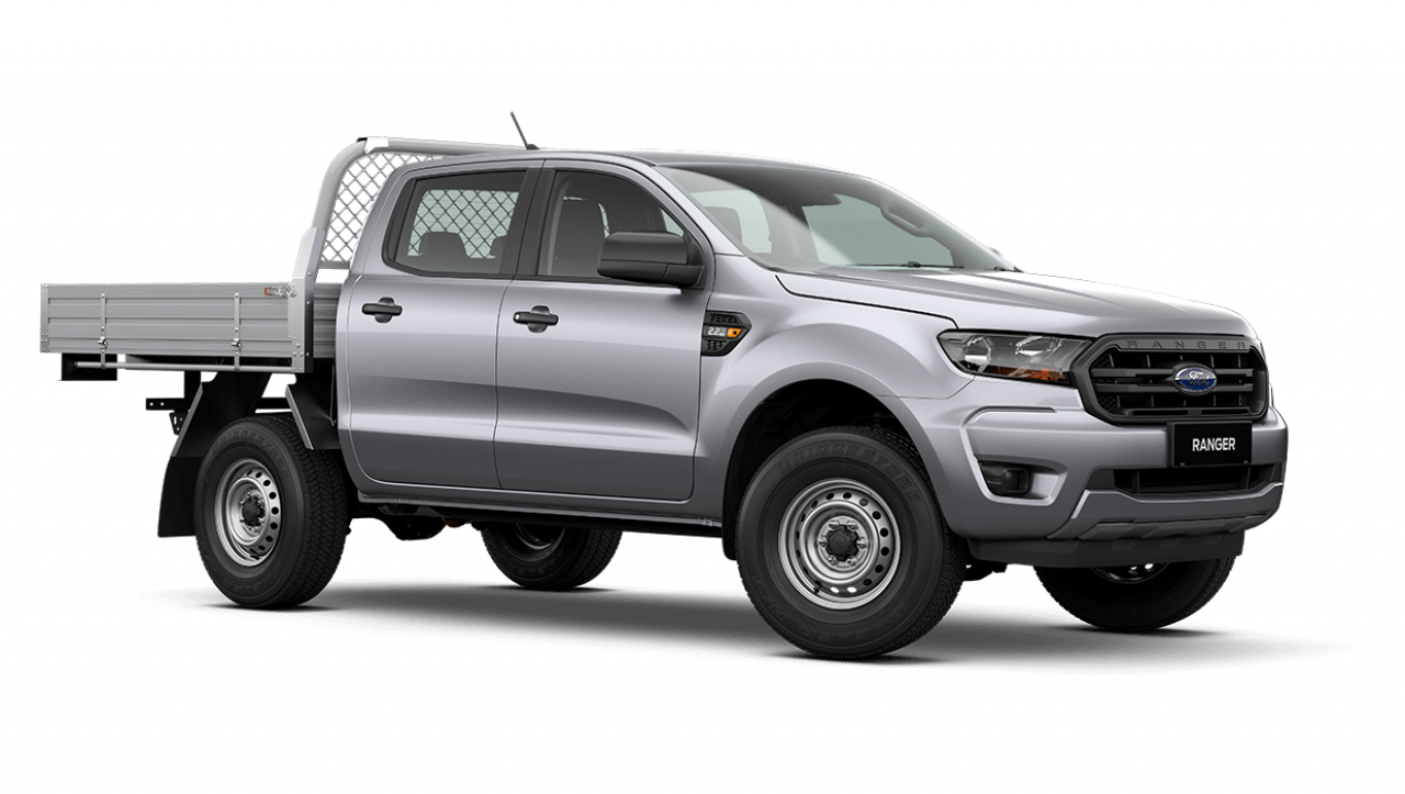 2020 MY21.25 Ford Ranger PX MkIII XL Double Cab Chassis Utility Image 2