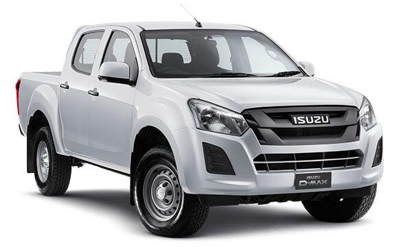 2019 Isuzu UTE D-MAX SX Crew Cab Ute High-Ride 4x2 Utility