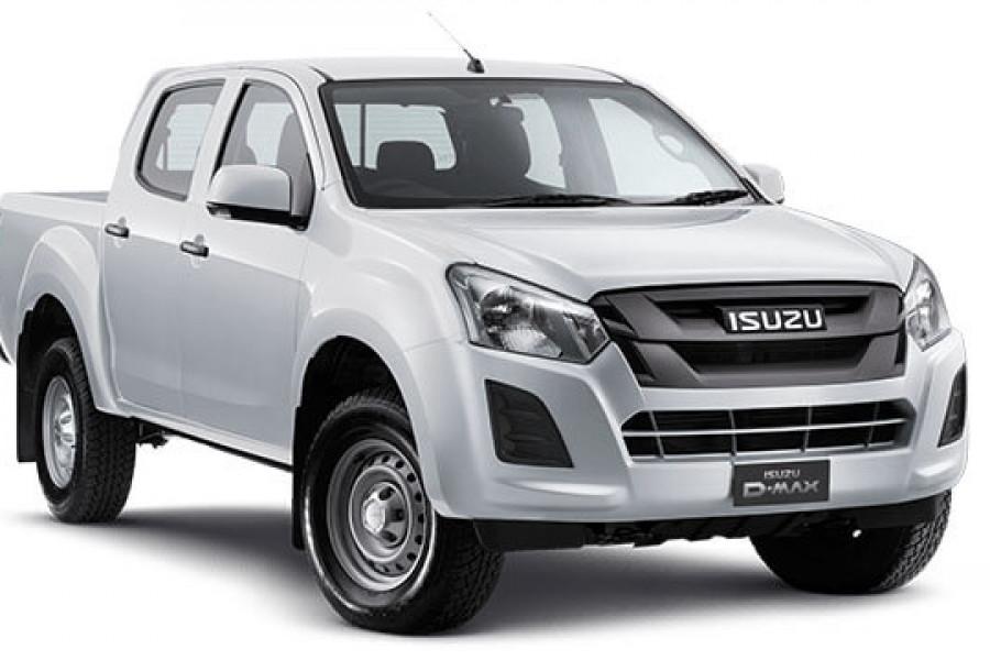 2020 MY19 Isuzu UTE D-MAX SX Crew Cab Ute High-Ride 4x2 Crew cab Image 1
