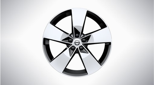 "19"" 5-Spoke Black White - 923"