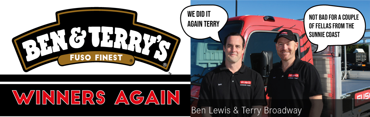 BEN & TERRY'S - AWARDED FUSO'S FINEST AGAIN