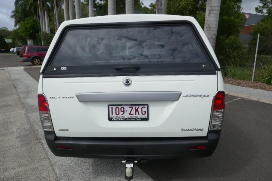 2008 SsangYong Actyon 100 Series XDi Wagon