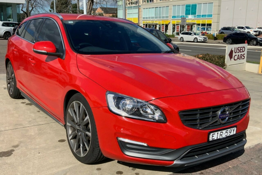 2015 Volvo V60 F Series MY15 T5 Geartronic Kinetic Wagon