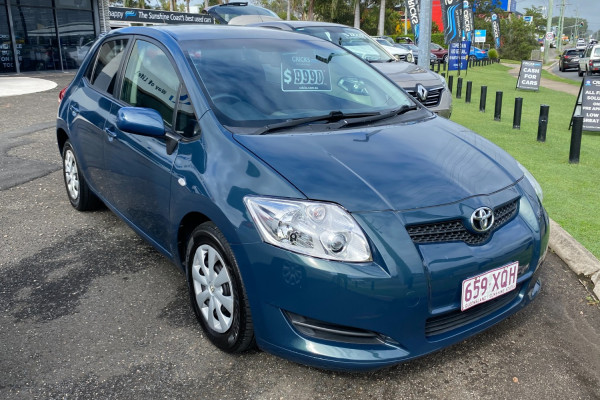 Toyota Corolla Ascent ZZE122R 5Y