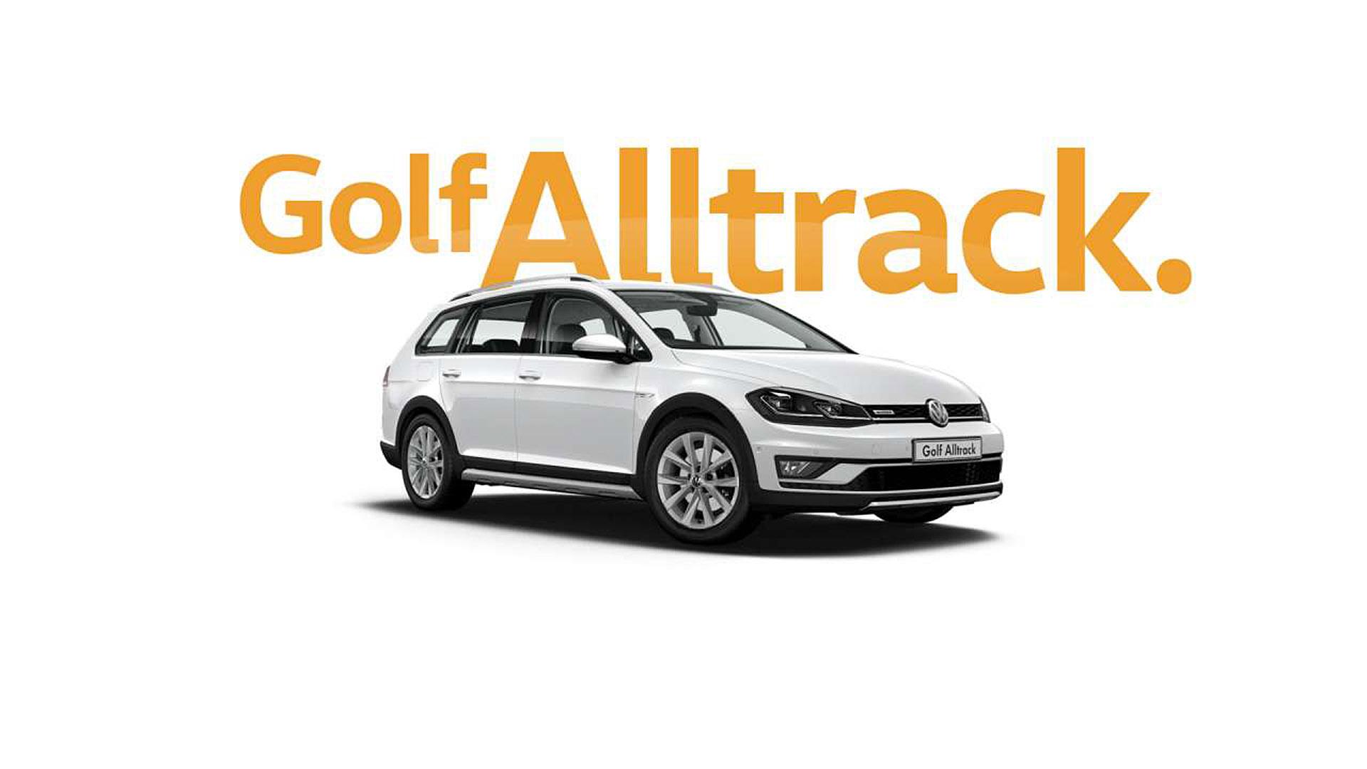 Golf Alltrack All tracks lead to adventure.