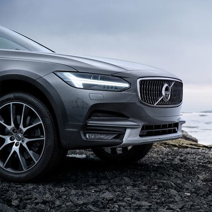 V90 Cross Country Visible strength