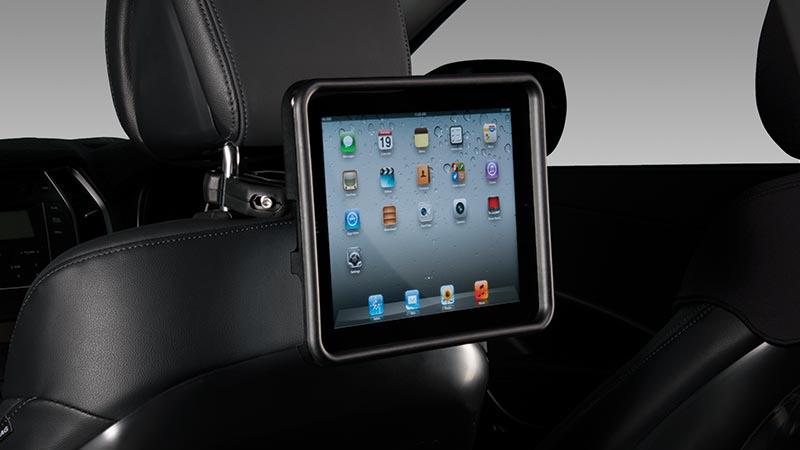 "<img src=""iPad® holder."