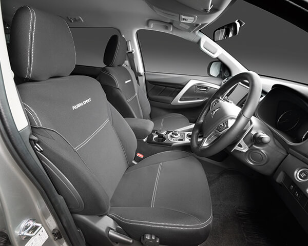 Neoprene seat cover - front