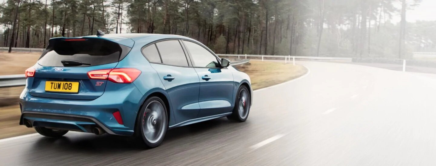 Focus ST Fast and Agile