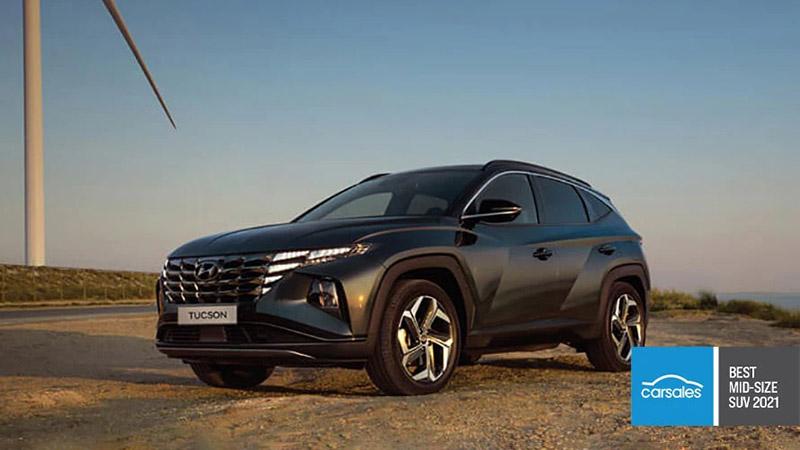Tucson Winner of Best Mid-size SUV: Tucson.