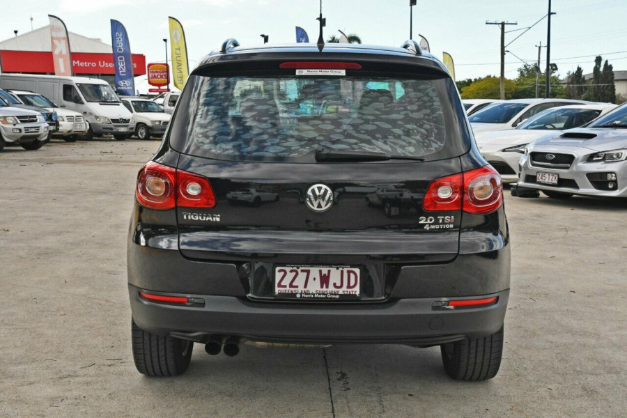 2010 Volkswagen Tiguan 5N MY10 125TSI 4MOTION Suv