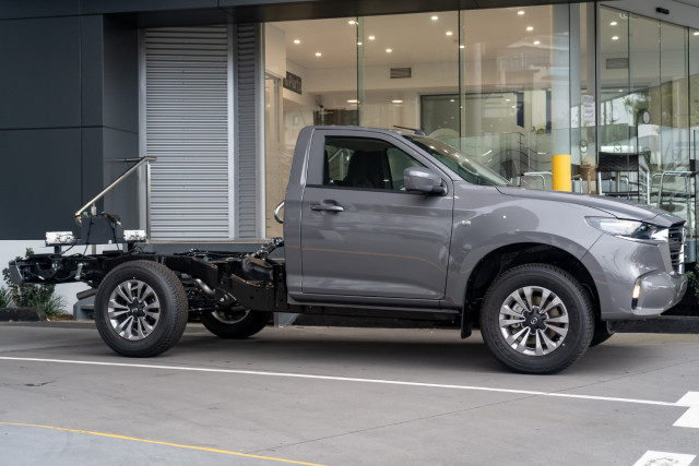 2021 Mazda BT-50 TF XT 4x4 Single Cab Chassis Cab chassis Mobile Image 3